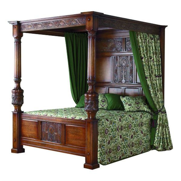 How To Dress A Four Poster Bed