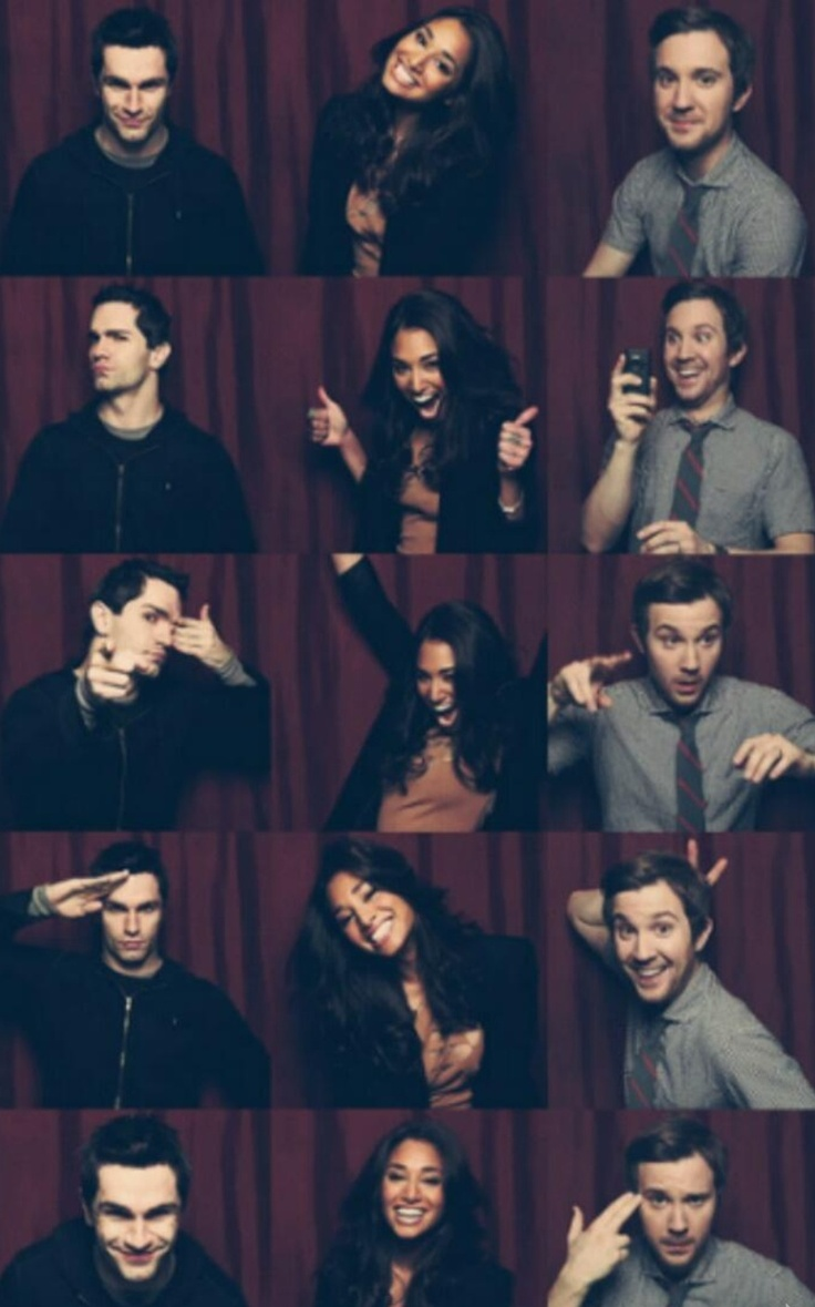 Crazy Kids! Sam Witwer, Meaghan Rath, Sam Huntington just 'Being Human' ;)