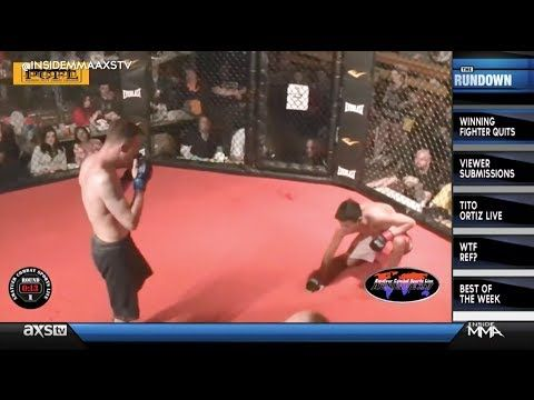 Incredible Act of Sportsmanship of the Day: The Winner of an Amateur MMA Fight Taps Out to Spare His Opponent Further Damage