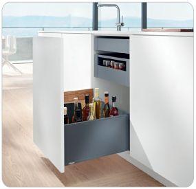 Blum Products - Box systems - LEGRABOX application 5 Kitchens