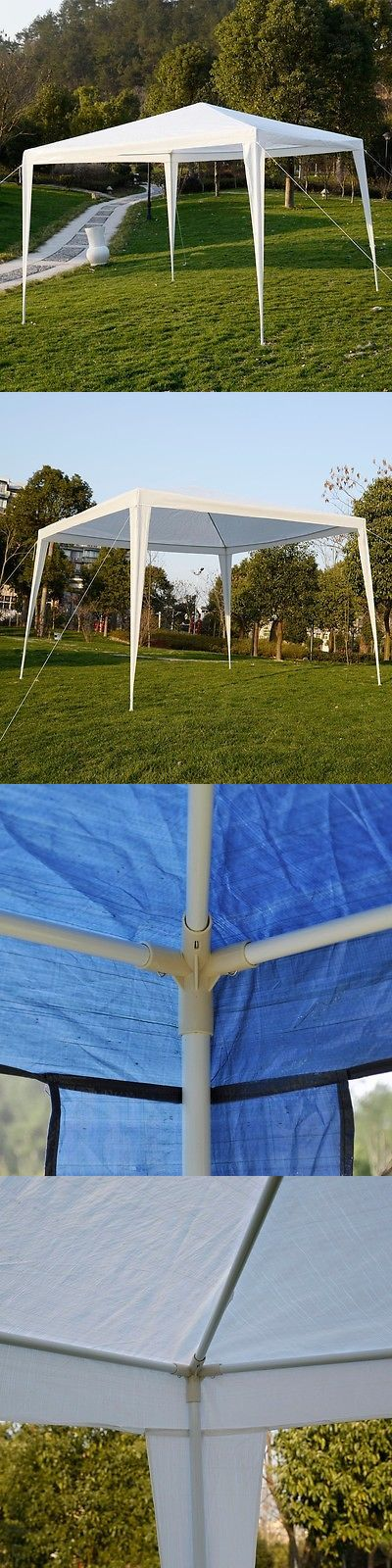 Other Tents and Canopies 179019: Apontus Outdoor Tent Canopy Gazebo, 10 X 10 (White) -> BUY IT NOW ONLY: $50.99 on eBay!