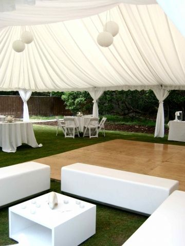 Cocktail reception Marquee