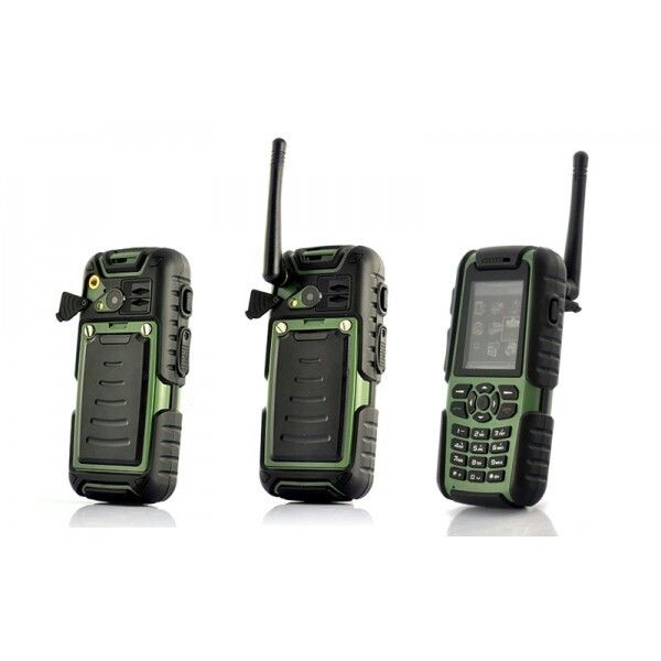 Walkie talkie feature on this rugged mobile. Shopswagstore.com