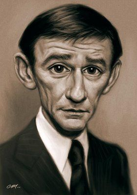 Roddy McDowall (caricature)