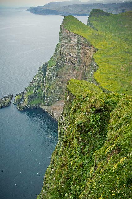 Hornbjarg cliffs, western Iceland - 1,457 feet, 10km from the Arctic Circle.  Photogragher brum d