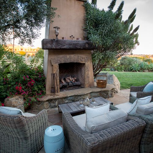 Outdoor Seating Fireplace Furniture   San Diego Furniture Store | Le Dimora