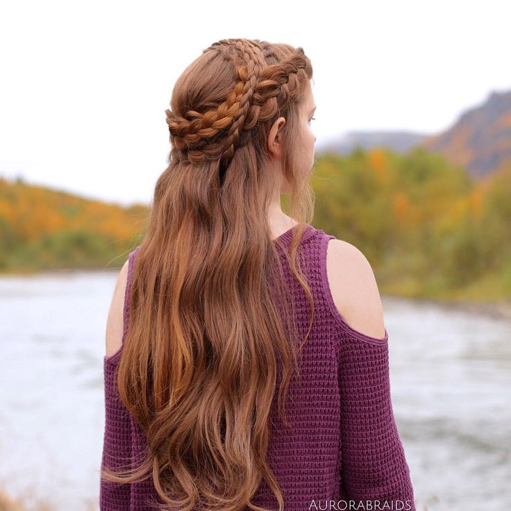 """Daenerys inspired braid on Mia"""