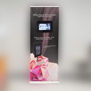 Retractable Banner Stands | Portable & Roll Up Trade Show Banners
