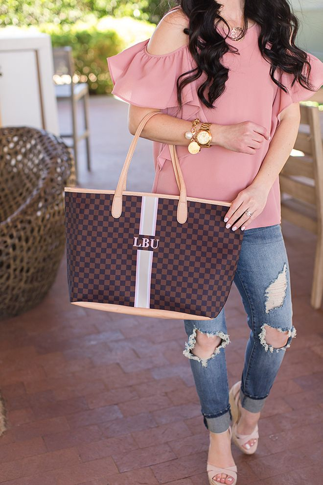 Barrington Gifts St. Ann Tote // Monogrammed Tote