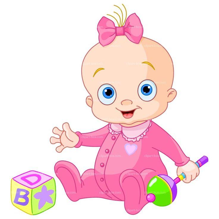 Baby Toys Clip Art : Baby girl clipart dibujos pinterest toys