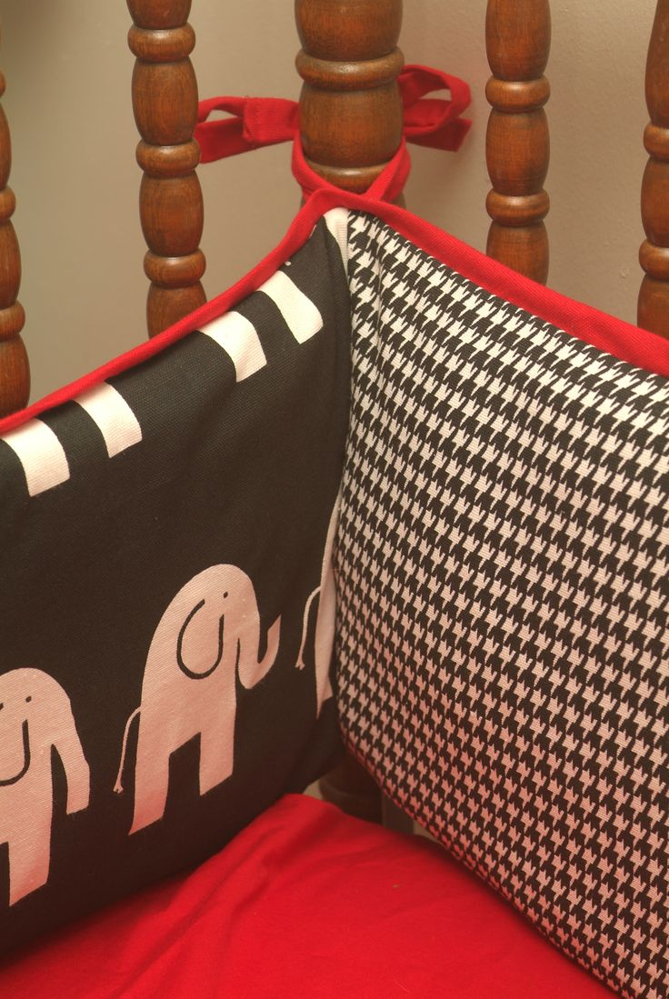 @ Diana Glaze check out this bama bumper pads for crib. Gives me some great ideas!
