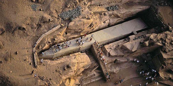 Obeliscul neterminat, Egipt