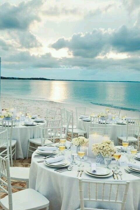 Beach Wedding Reception - http://media-cache-ak3.pinimg.com/originals/90/59/89/905989c8fa34ebffa1899cbb895e049d.jpg