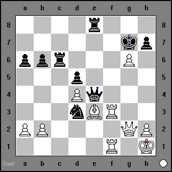 White Mates in 4. Saemisch vs Rudolf Spielmann, Baden-Baden, 1925 chess-and-strategy.com #echecs #chess