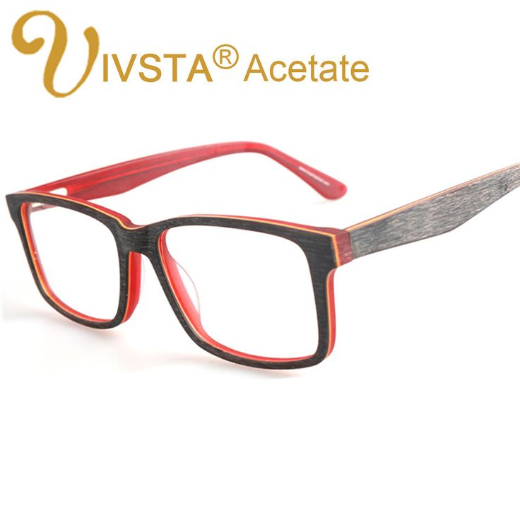 IVSTA Handcrafted Acetate optical frames Wooden Brush Wood Glasses myopia nature Retro Fashion Cat Eye eyeglasses women 3277  #men #Eyewear #natur #women #e £22.99 #organic #natural #ecofriendly #sustainaable #sustainthefuture