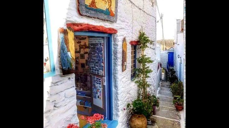 Amorgos a Cycladic island in the Aegean Sea.