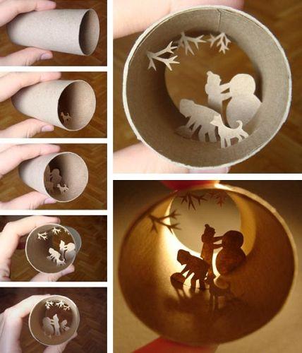 I love it, so much creativity with a so simple medium. Bravo.