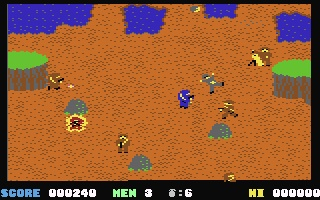 C64 game Who dare wins 1985. Kicked commandos ass.