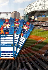 Astros tickets! For my bday minute made is my favorite place to go in the summer