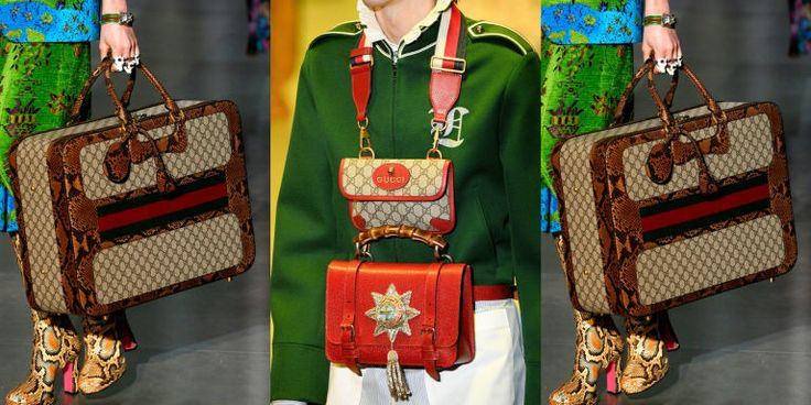 Here's a must-read article from ELLE:  The Best Bags Seen at Milan Fashion Week