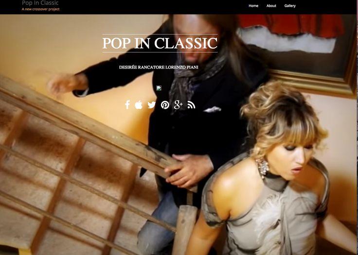 Pop In Classic, classical crossover project  #desireerancatore #lorenzopiani #popinclassic #lelebarleraarrager #senzaunsorriso popinclassic.com