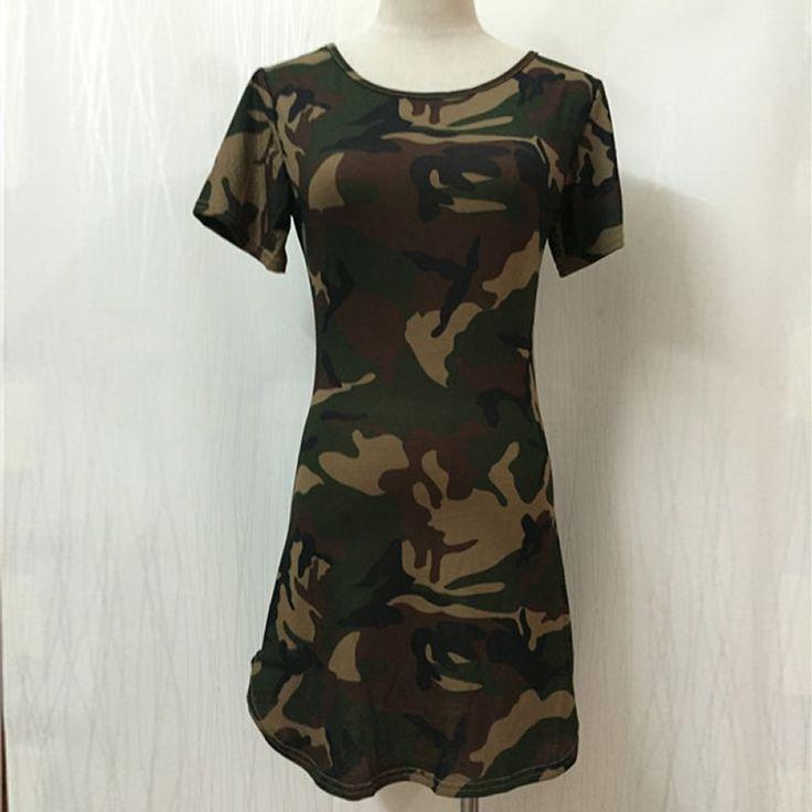Short Sleeve Summer Dress Army Camouflage Printed Long Tops Sexy Ladies Jurken Causal Slim Mini Dress Vestido Cool T Shirt Dress US $11.13 - http://armyboots.top/short-sleeve-summer-dress-army-camouflage-printed-long-tops-sexy-ladies-jurken-causal-slim-mini-dress-vestido-cool-t-shirt-dress-us-11-13/