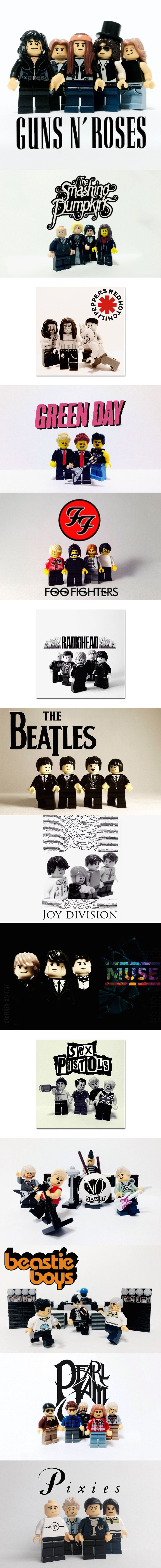 Lego Bands. How many of them do you like?
