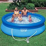 Piscina PVC Easy Set Redonda 3.823L + Bomba Filtro 110V - Intex