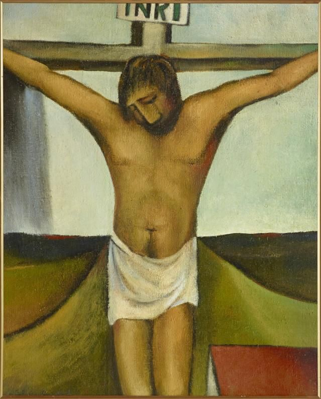 Topic: Biography of Colin McCahon | Collections Online - Museum of New Zealand Te Papa Tongarewa