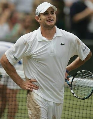 Wonderful Andy Roddick - it's not the same without you!