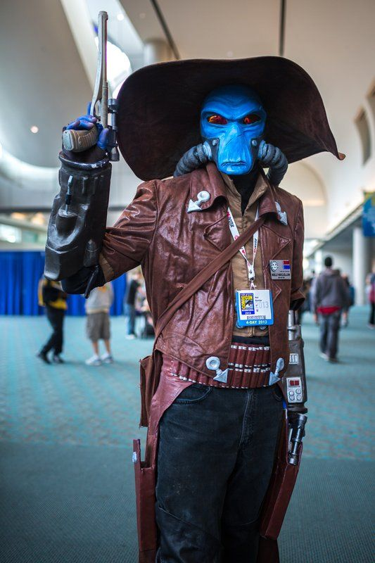 Cad Bane - the galaxy's best, deadliest bounty hunter during the Clone Wars | SDCC 2013