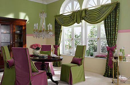 фиолетовые чехлы на стулья