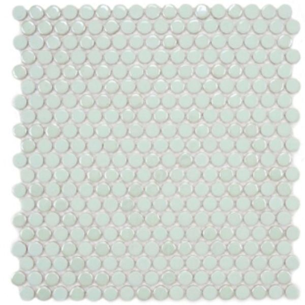 Kitchen Tiles Mint Green: Gorgeous Mint Green Penny Round Tiles -- Lovely For