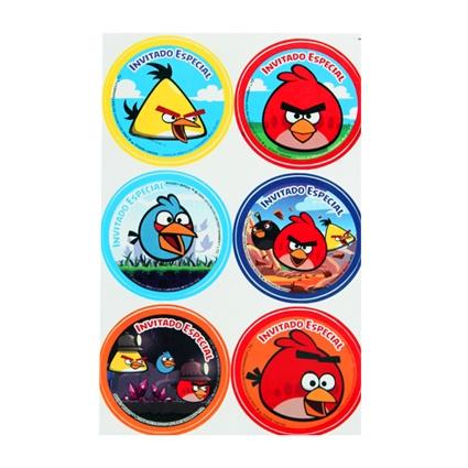 #distintivo #fiestaAngryBirds #kitfiesta  http://www.kitfiesta.com/fiestas-ninos/angry-birds/angry-birds-distintivo