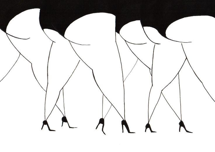 someforeignletters: Daria Krol: Catwalk