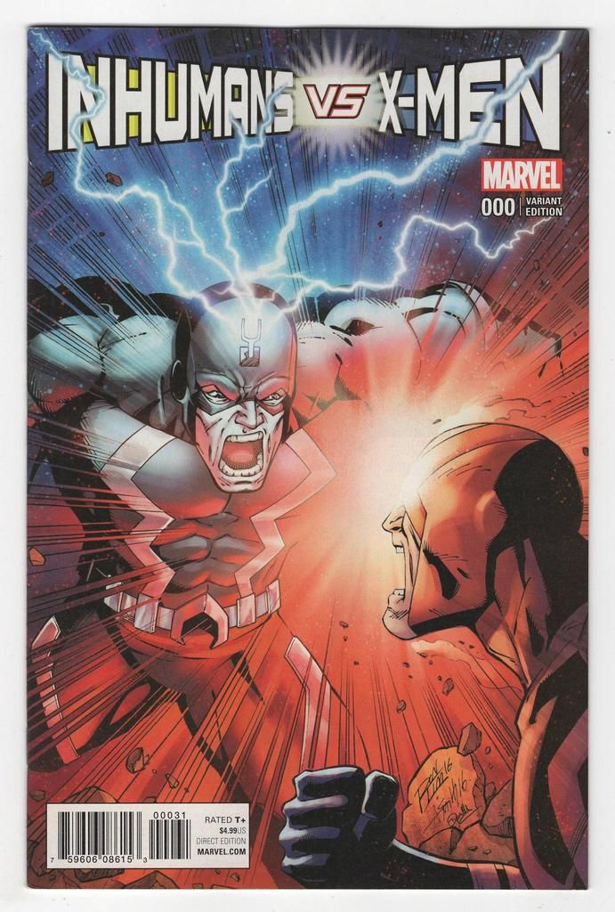 Inhumans Vs X Men 0 Ron Lim Variant Cover 2017 Marvel Inhumans Marvel Comic Books Black Bolt Marvel