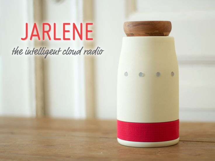 Jarlene is an intelligent cloud radio that brings the joys and benefits of cloud-based music services to a wider audience. By capturing and identifying tracks from other devices, Jarlene tailors personal cloud-fuelled radio stations to match the user's preferences.