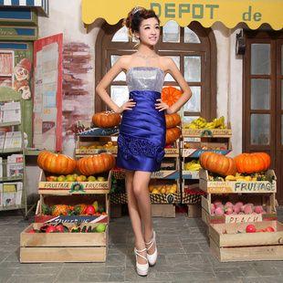 Royal Blue Short Prom Dress, Women Cocktail Prom Mini Dress  88DLF03 US $26.80 - 41.80