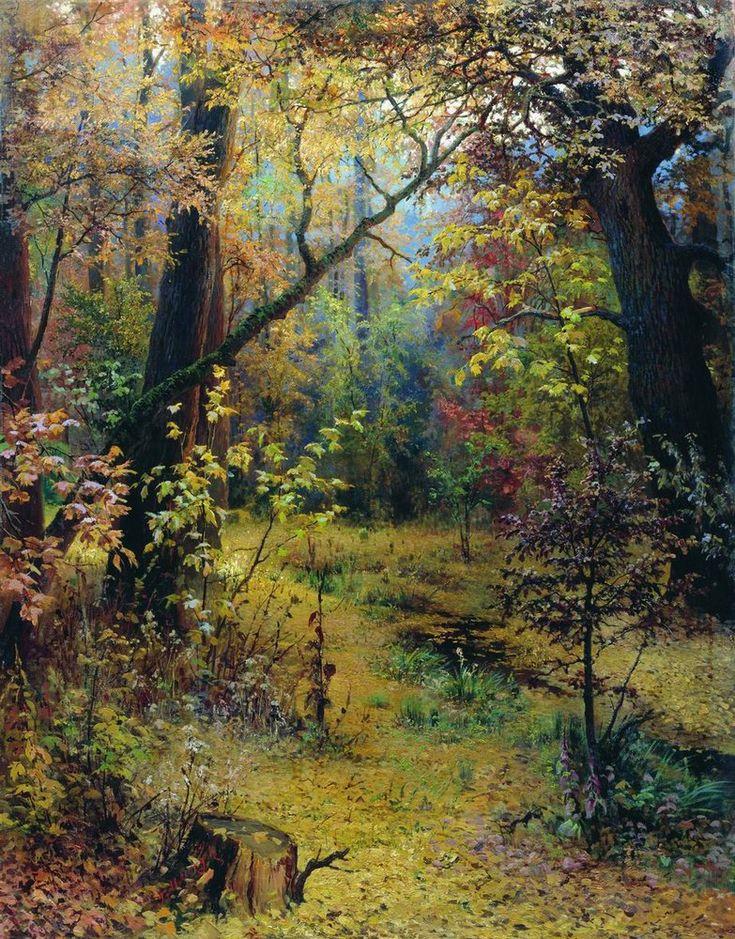 GRIGORIY MYASOYEDOV Autumn Morning (1893)