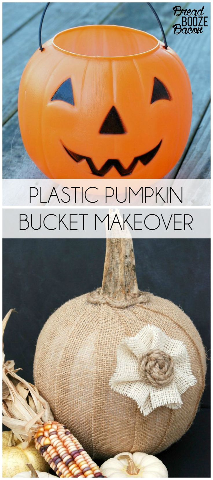 Can you believe that used to be a cheap orange plastic bucket?!? It's kind of crazy to think about!