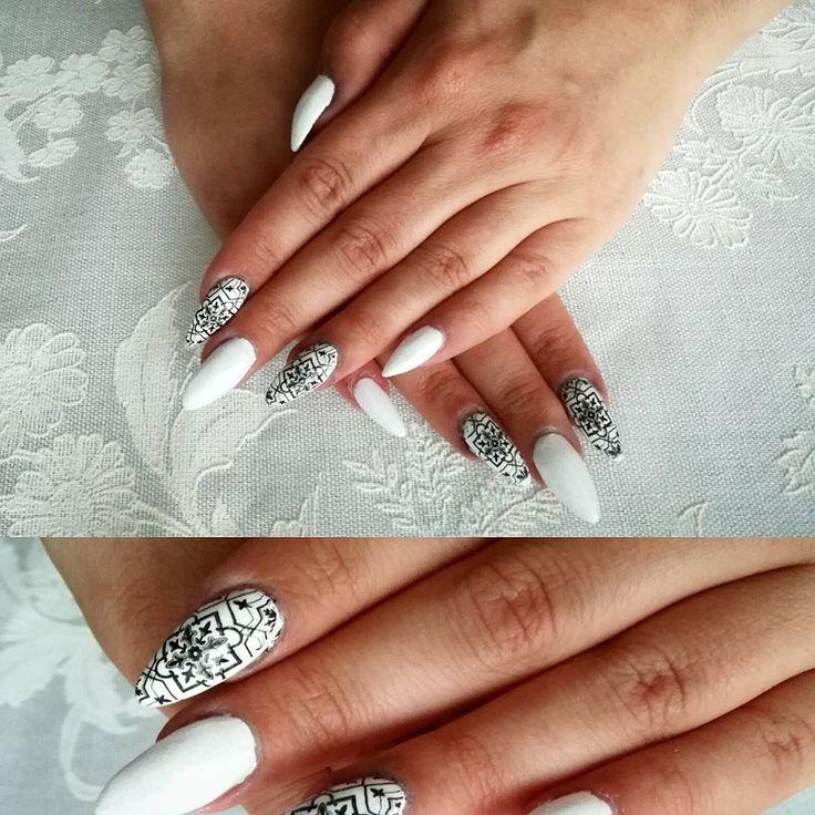 #nail#nailstamp#stamping#instanail#paznokcie#wzorki#instaphoto#paznokciewarszawa :-)