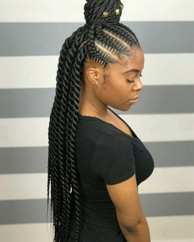 À couper le souffle. 42 superbes coiffures Cornrow pour femmes noires vattire.c…