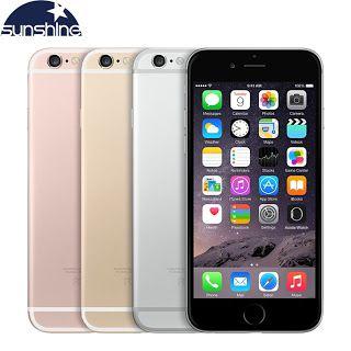 Original Unlocked Apple iPhone 6s 4G LTE Mobile phone 4.7 12.0MP IOS 9 Dual Core 2GB RAM 1664GB ROM Smartphone (32774948472)  SEE MORE  #SuperDeals