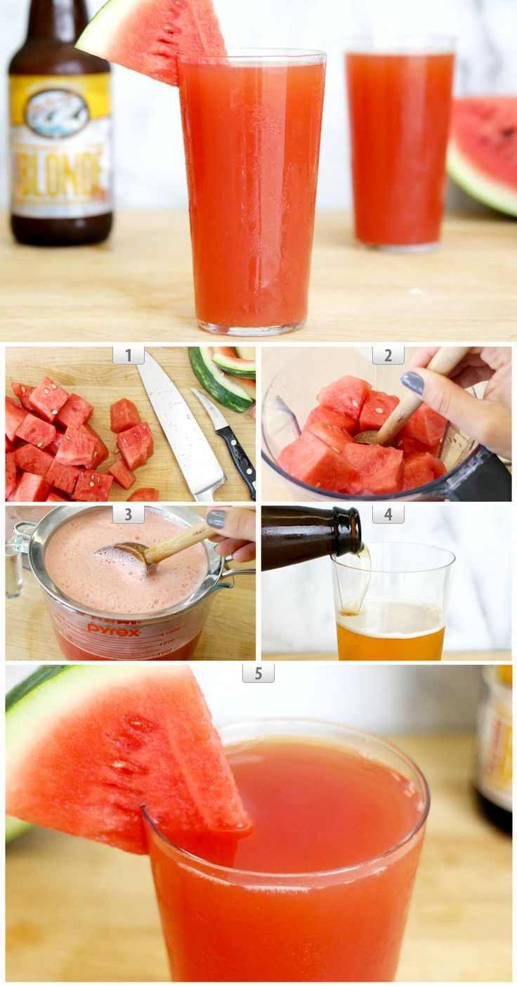 Inspired by 21st Amendment Brewery's Hell or High Watermelon Beer.