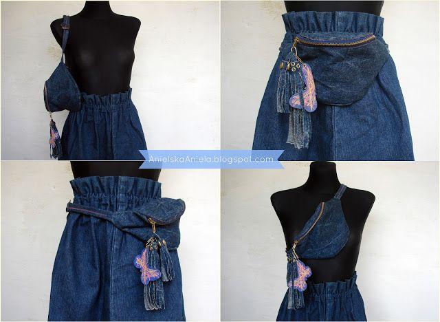 Diy Tutorial Fanny pack (pattern) jak uszyć torebkę nerkę? plus wykrój Diy