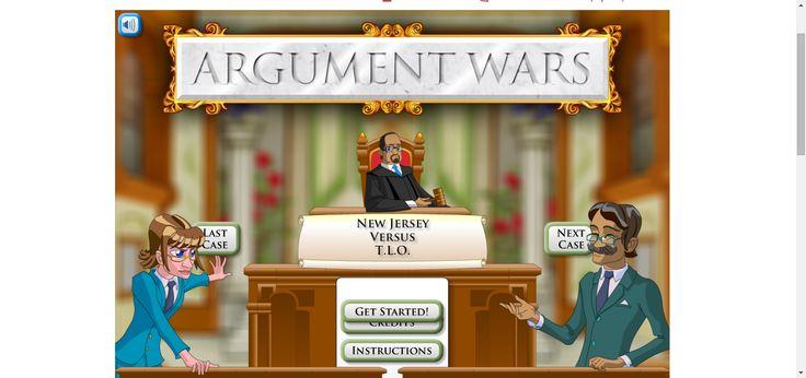 Argument Wars | iCivics Educational game #HomeEducation #HomeSchool