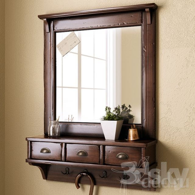 Wall Mount Entryway Organizer Mirror: Pinterest: Discover And Save Creative Ideas