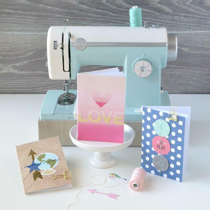 La máquina de coser Stitch Happy es una herramienta híbrida, es decir, puede ser usada tanto en papel como en tela.- Su potente motor te permitirá coser varias capas de papel o tela y será por esto mismo por lo que podrás coser tela, papel, fieltro, falso cuero... Y podrás coserlo con hilo grueso, baker twine, hilos metálicos... Disponible En Jipi Soluciones Digitales Mas Info a info@jipi.com.co o al 3214381693