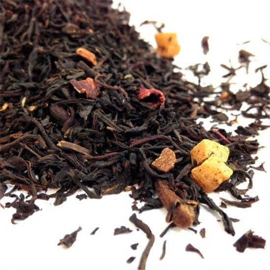 CHRISTMAS TEA A festive blend of Ceylon tea with cinnamon, cloves, almond and a hint of fruit will produce a jolly flavour.