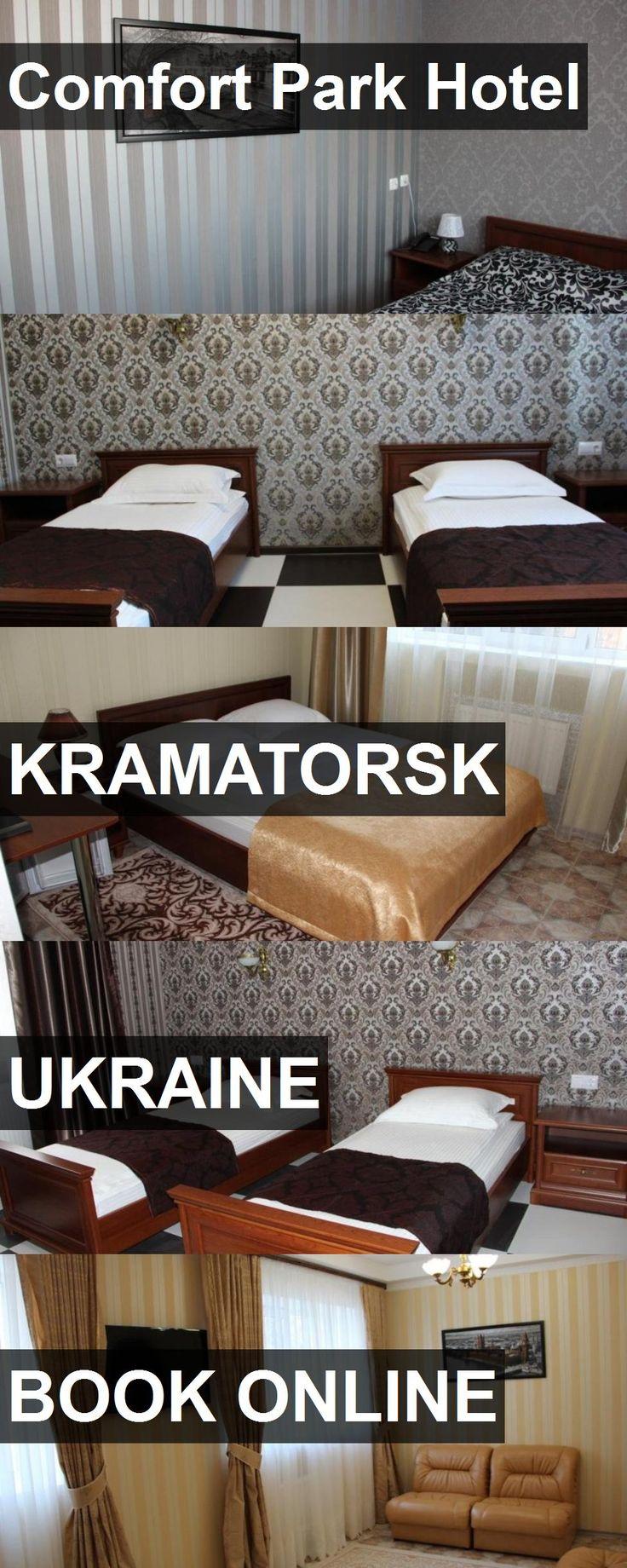 Hotel Comfort Park Hotel in Kramatorsk, Ukraine. For more information, photos, reviews and best prices please follow the link. #Ukraine #Kramatorsk #ComfortParkHotel #hotel #travel #vacation